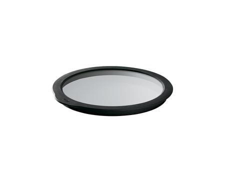 Glaslock klar/svart 16 cm