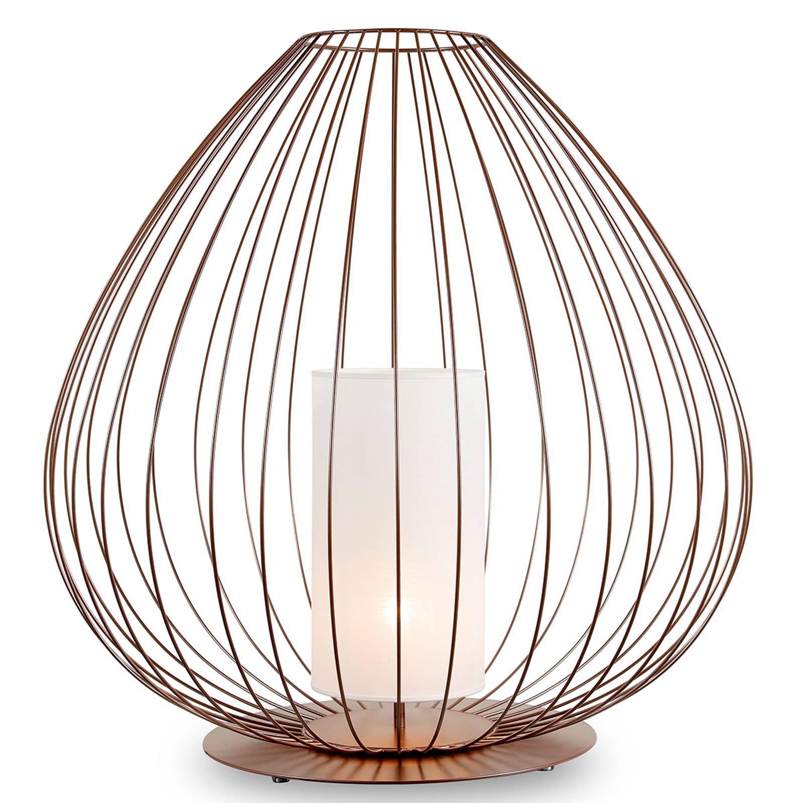 Karman Cell - gulvlampe med bur, Ø84 cm, bronse