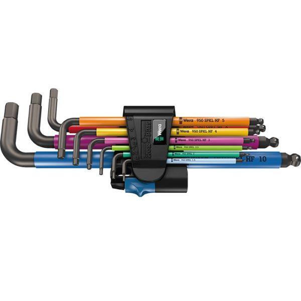 Wera 950/9 Multicolour HF Unbrakonøkkelsett