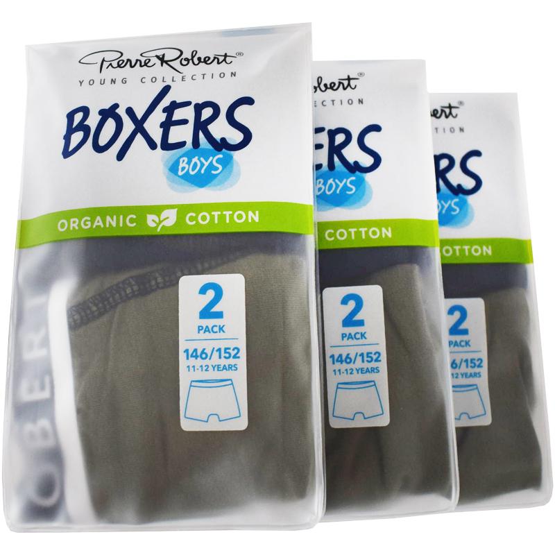 Kalsonger Boxers Barn 146-152 Khaki & mörkblå 6-pack - 57% rabatt