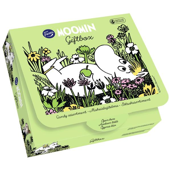 Moomin Gift Box 256G