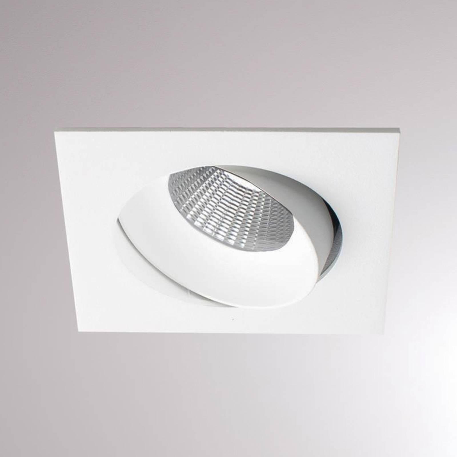 LOUM Kalio -LED-uppovalo kulmikas 2700K valkoinen