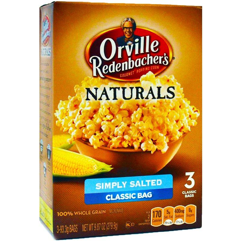 Popcorn, kevyesti suolattu 279 g - 74% alennus