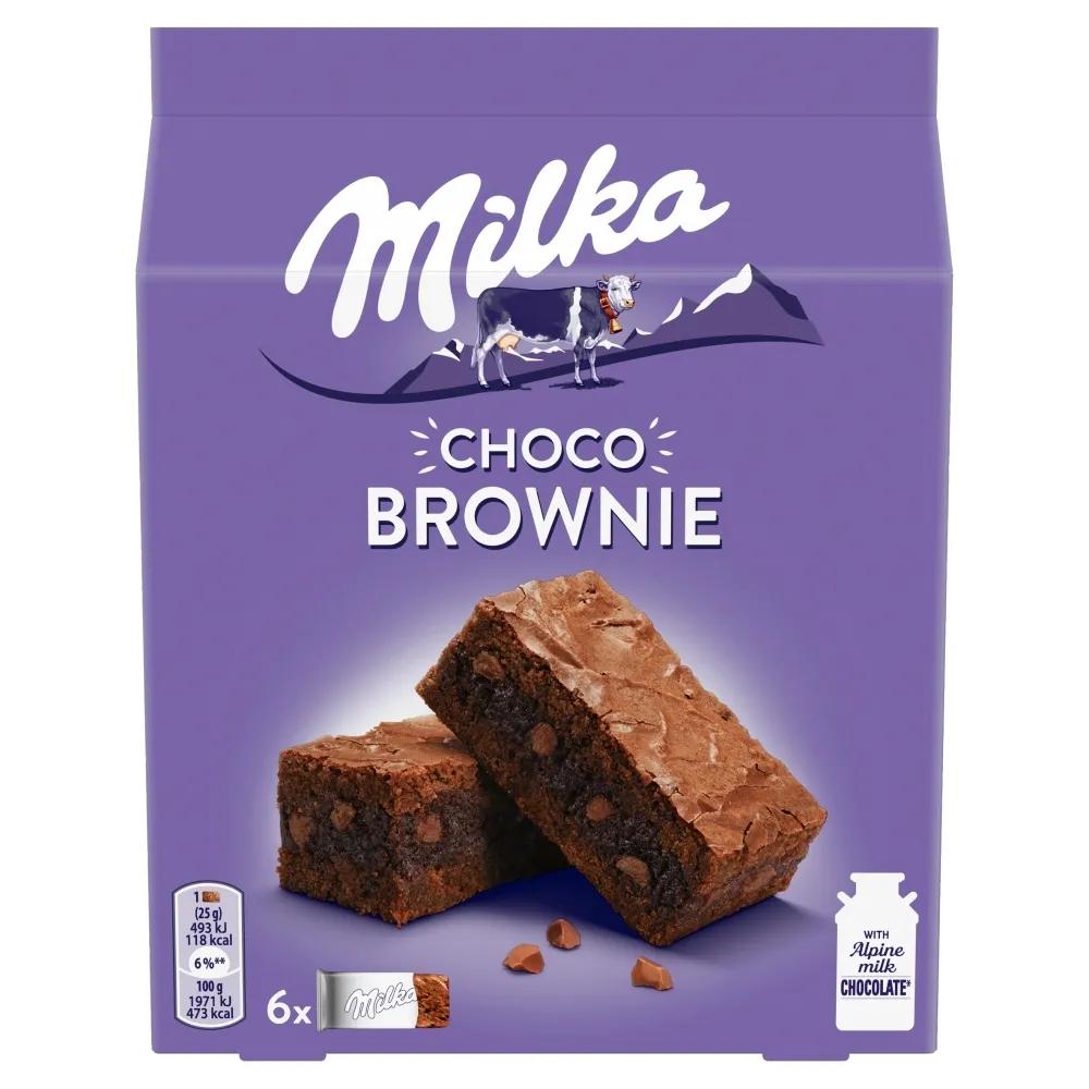 Milka Choco Brownie 150g 6-Pack