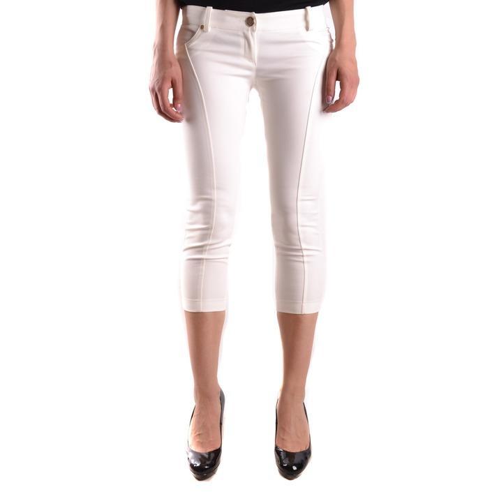 Elisabetta Franchi Women's Trouser White 186725 - white 46
