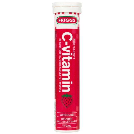 """Kosttillskott """"C-Vitamin Jordgubb"""" 20-pack - 40% rabatt"""