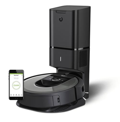 Irobot Roomba I7550+ Robotdammsugare - Svart