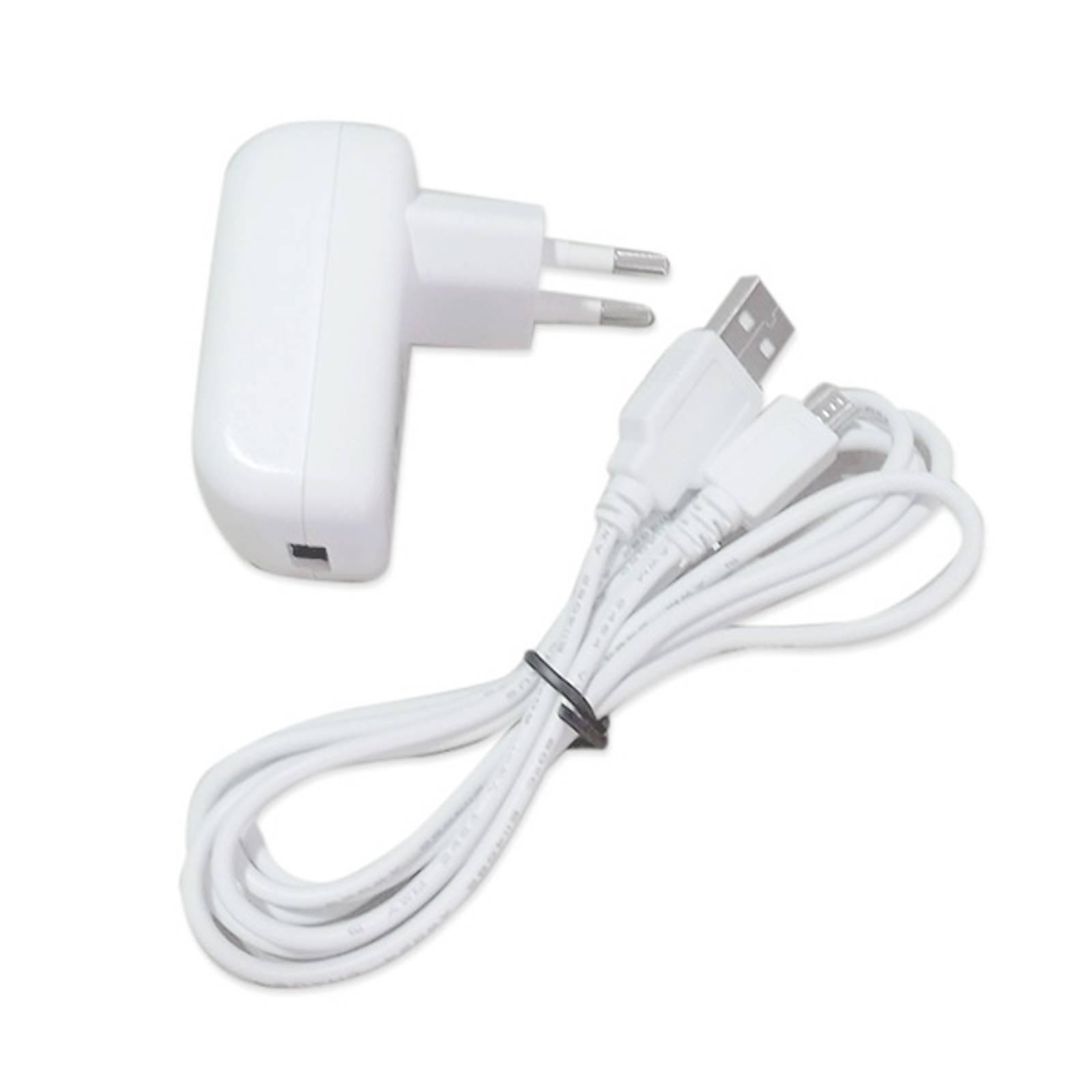 1-USB-latauslaite LED-ulkokoristevalaisin Patiolle