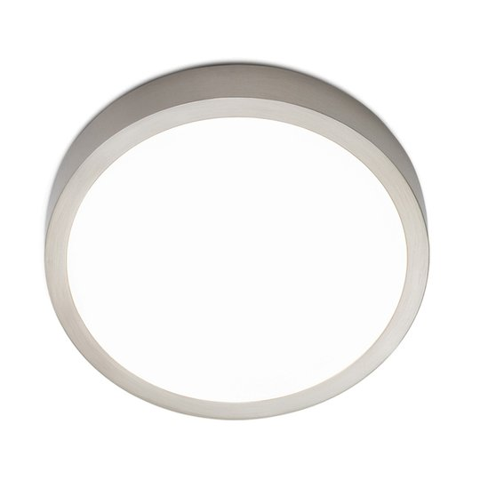 LED-kattovalaisin Bully, satinoitu, 14 cm