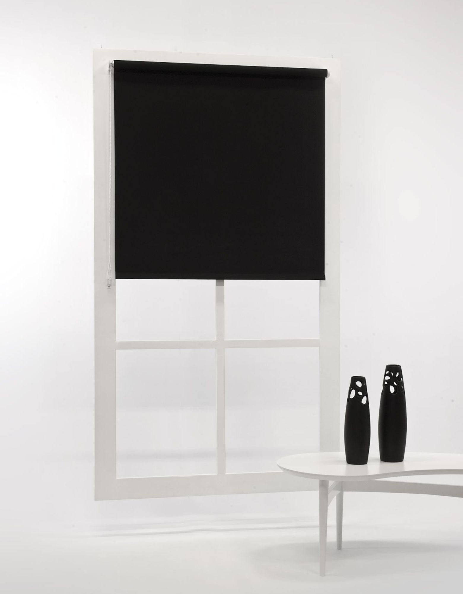Hasta Blackout Pimennysverho, Black 100x185
