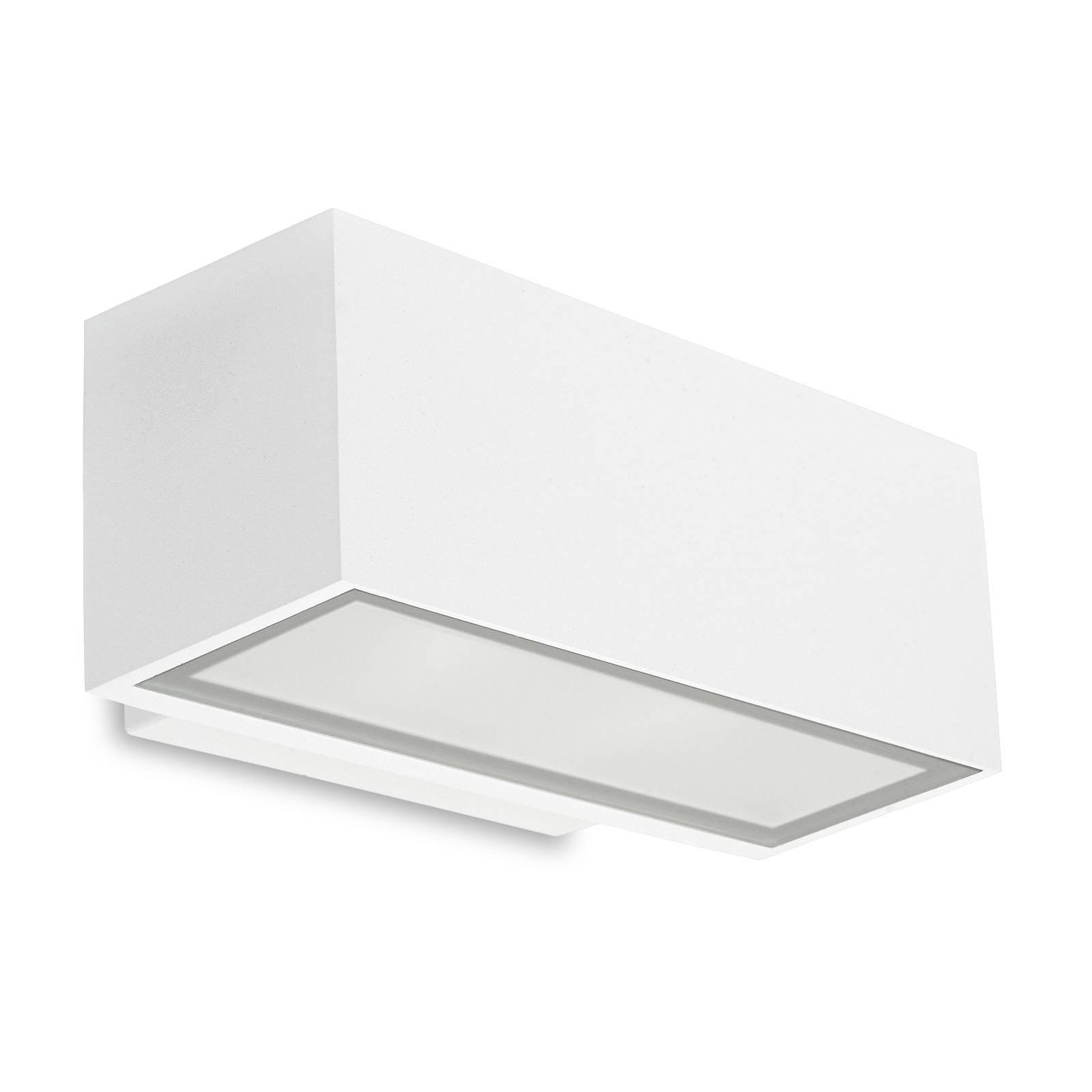 LEDS-C4 Afrodita utendørs vegglampe, opp/ned, hvit