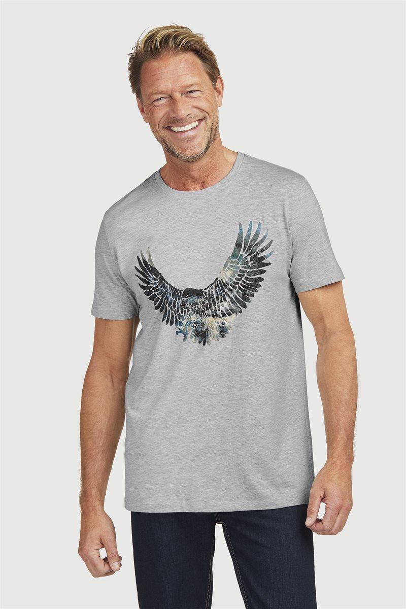Mukava T-paita trikoosta
