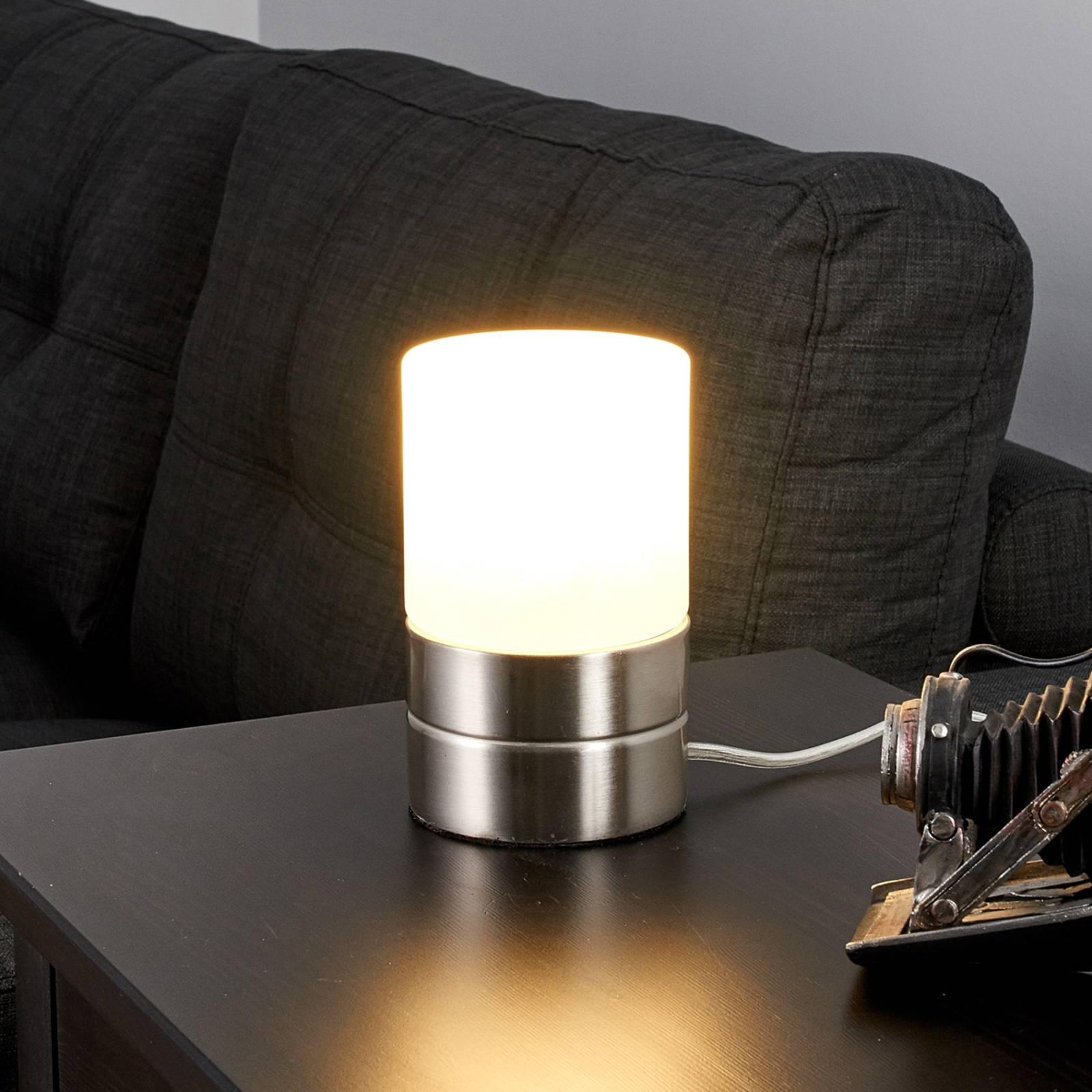 Sevda - sylinterinmuotoinen LED-pöytävalaisin