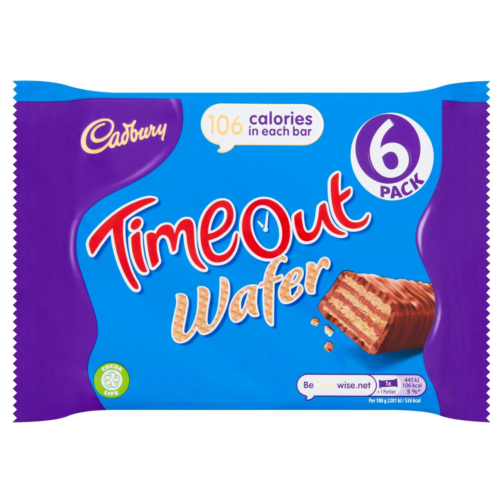Cadbury Timeout 6pack 127g