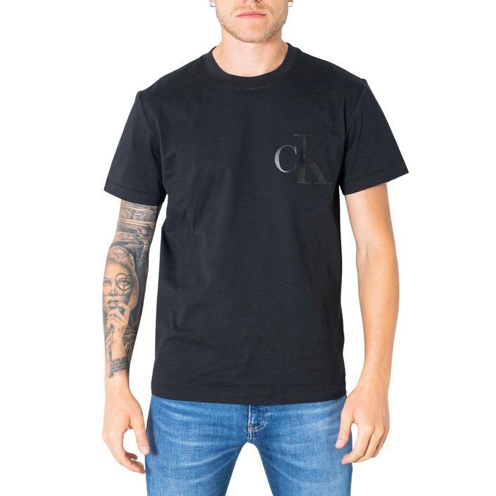 Calvin Klein Jeans Men's T-Shirt Black 305640 - black XS