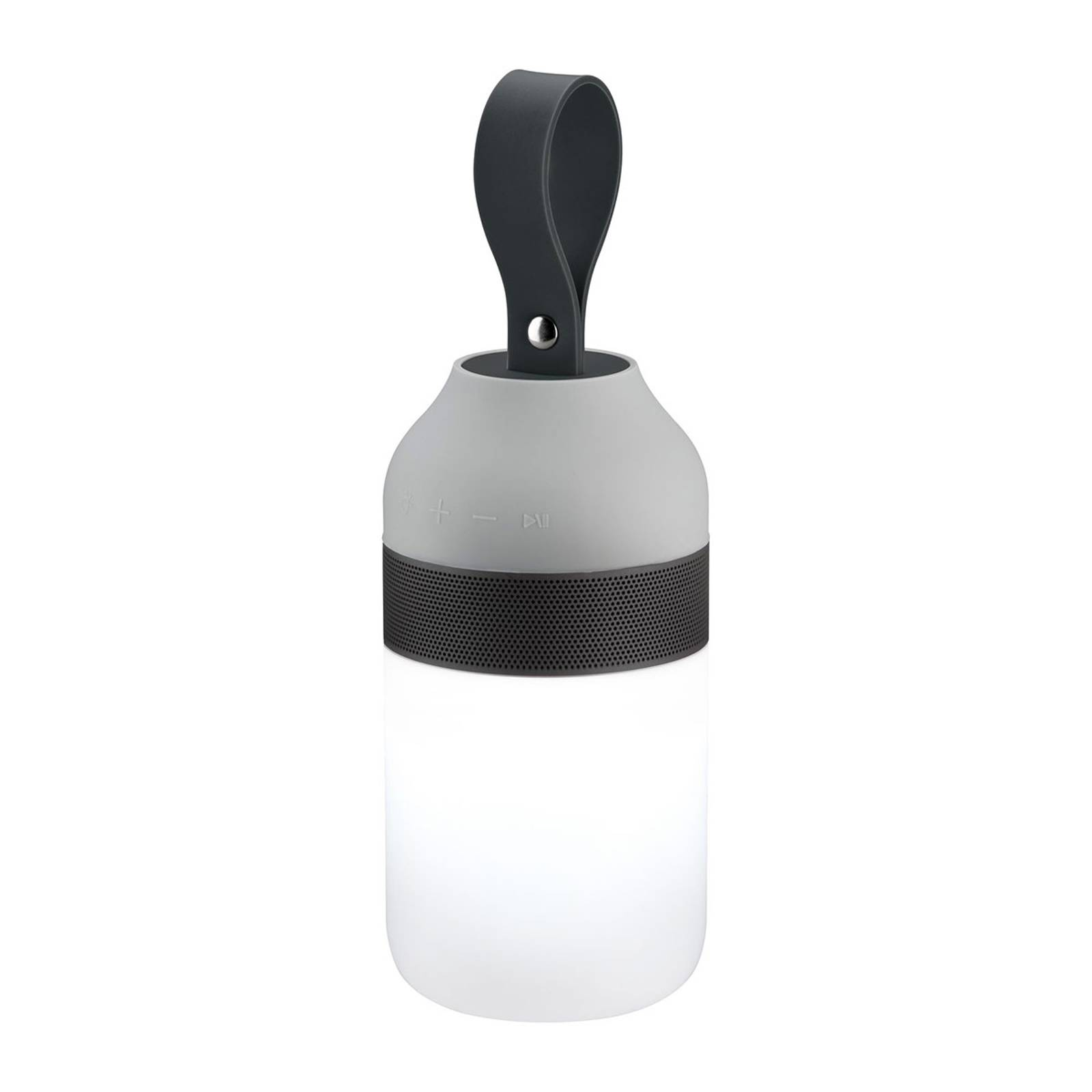 Paulmann Clutch Sound -pöytälamppu, akku Bluetooth