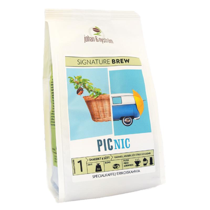 """Kaffebönor """"Picnic"""" - 63% rabatt"""