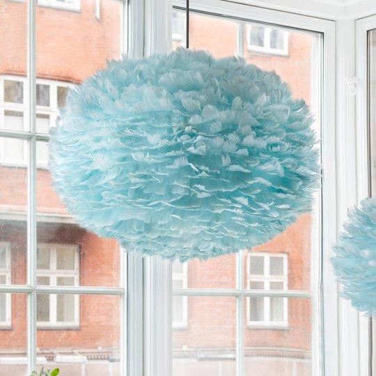 UMAGE Eos medium hengelampe lyseblå, Ø 45 cm