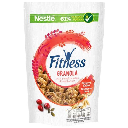 """Granola """"Oats, Pumpkin Seeds & Cranberries"""" 300g - 29% alennus"""