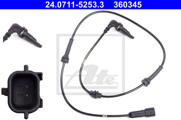 ABS-anturi ATE 24.0711-5253.3