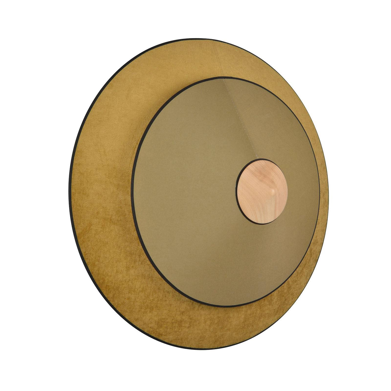 Forestier Cymbal S LED-vegglampe, bronse