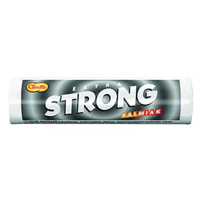 Extra Strong Salmiak - 25 gram
