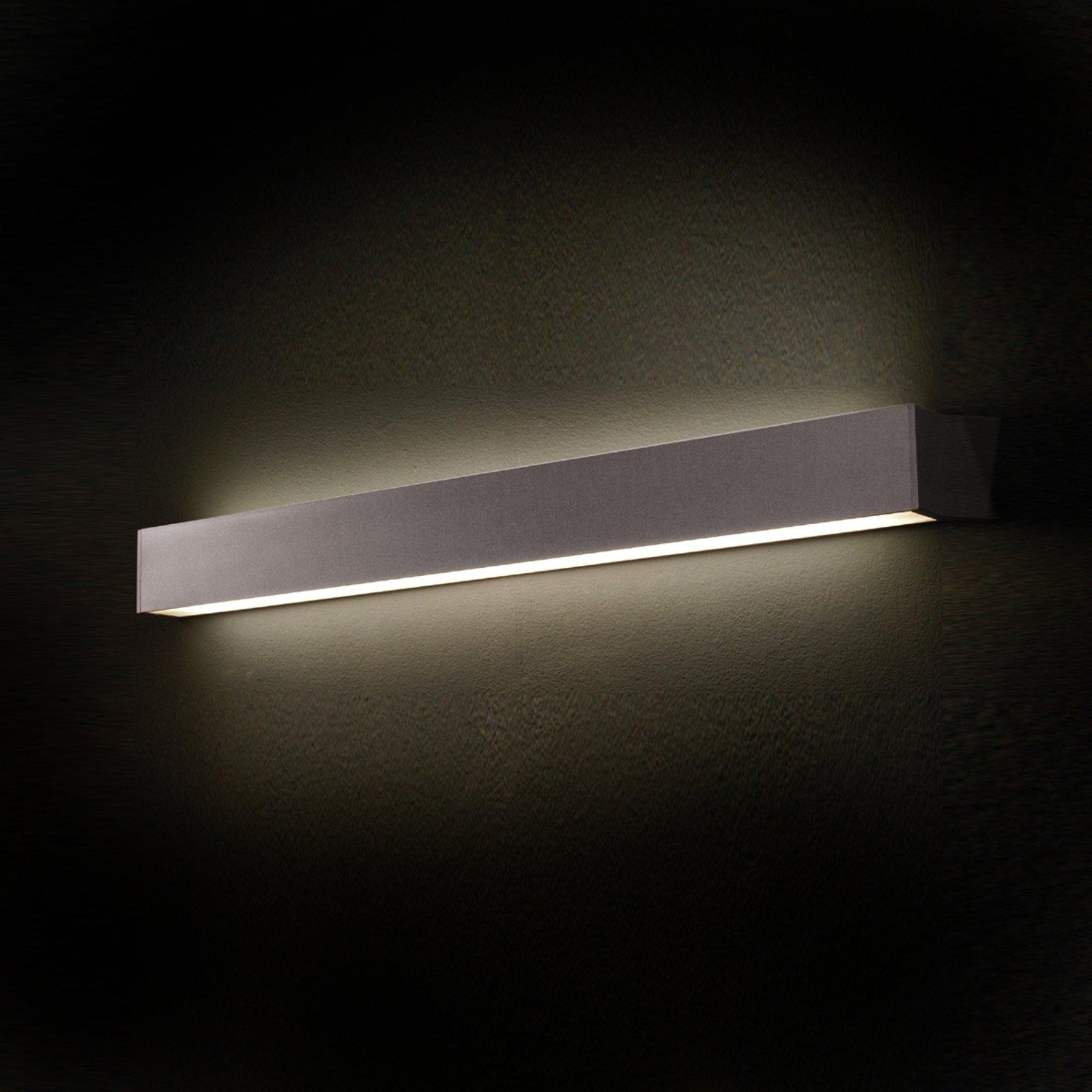 TIN vegglampe i aluminium 89,8 cm lang