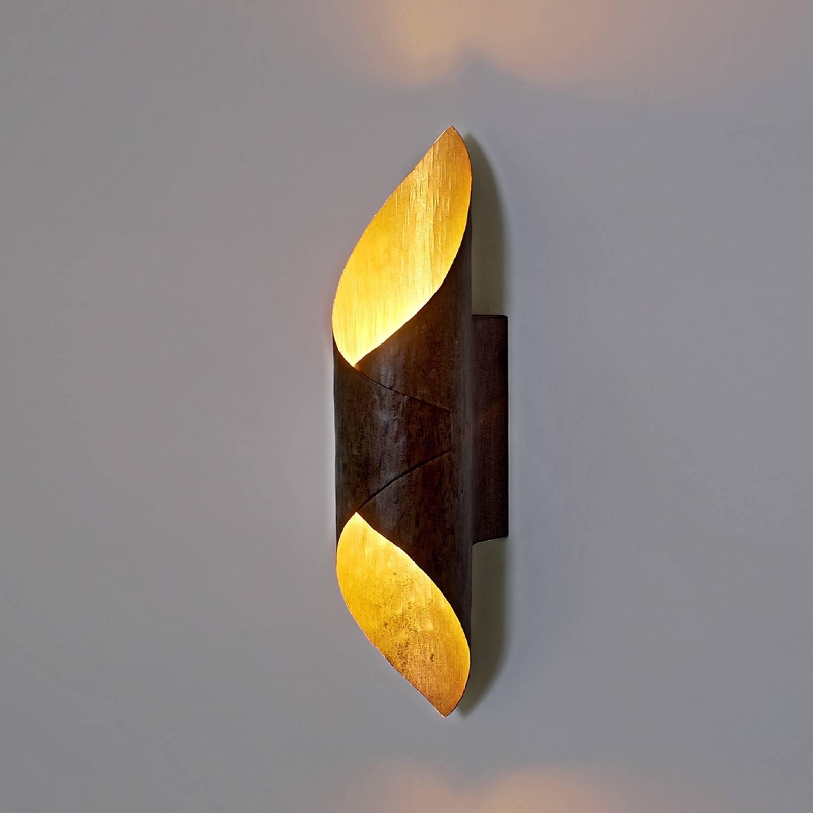LED-vegglampe Organo med spesiell utforming