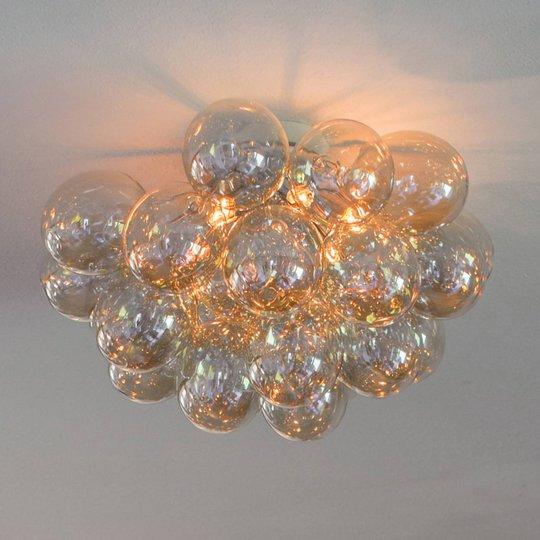 By Rydéns Gross taklampe, ravfarget, 50 cm