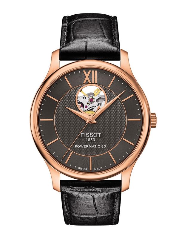 Tissot Tradition Powermatic 80 Open Heart T063.907.36.068.00