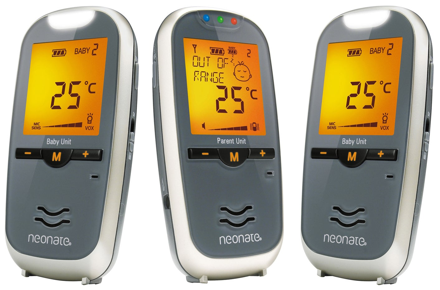 Neonate Digital Babyvakt BC-6900D + Extra Enhet