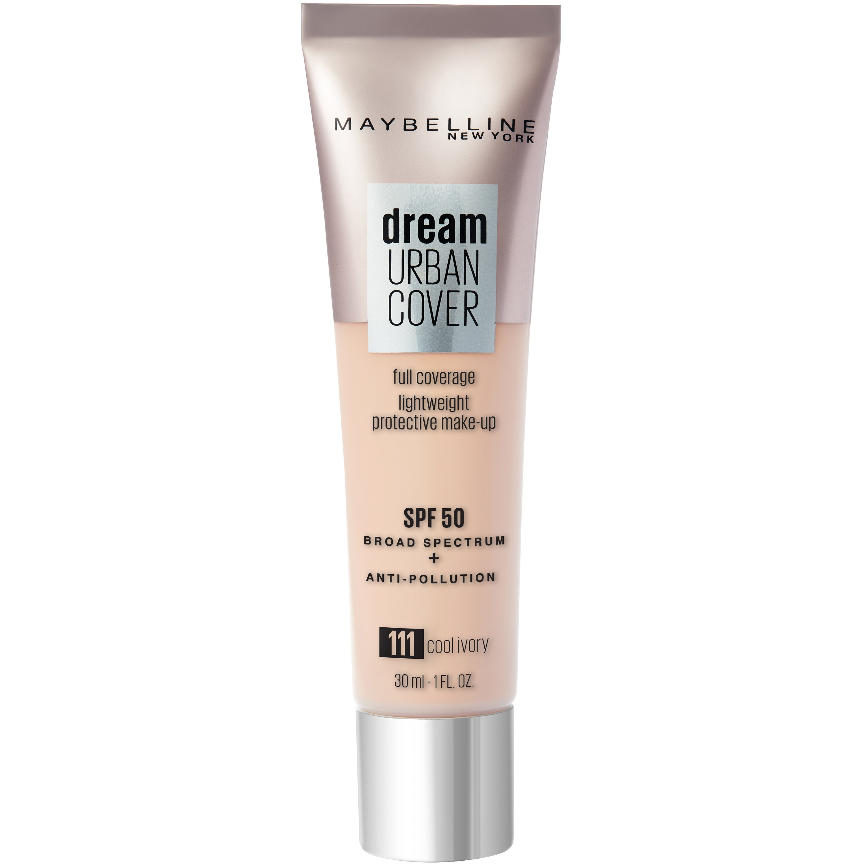 Maybelline - Dream Urban Cover Foundation - 111 Cool Ivory