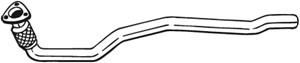 Pakoputki, Edessä, Keskellä, AUDI A4 Allroad B8, A4 B8, A4 B8 Avant, A5, A5 Cabriolet, A5 Sportback, Q5, 8K0254350S