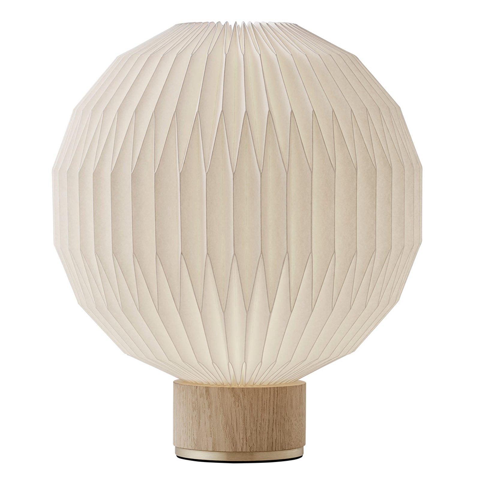 LE KLINT 375 bordlampe, papirskjerm 38 cm