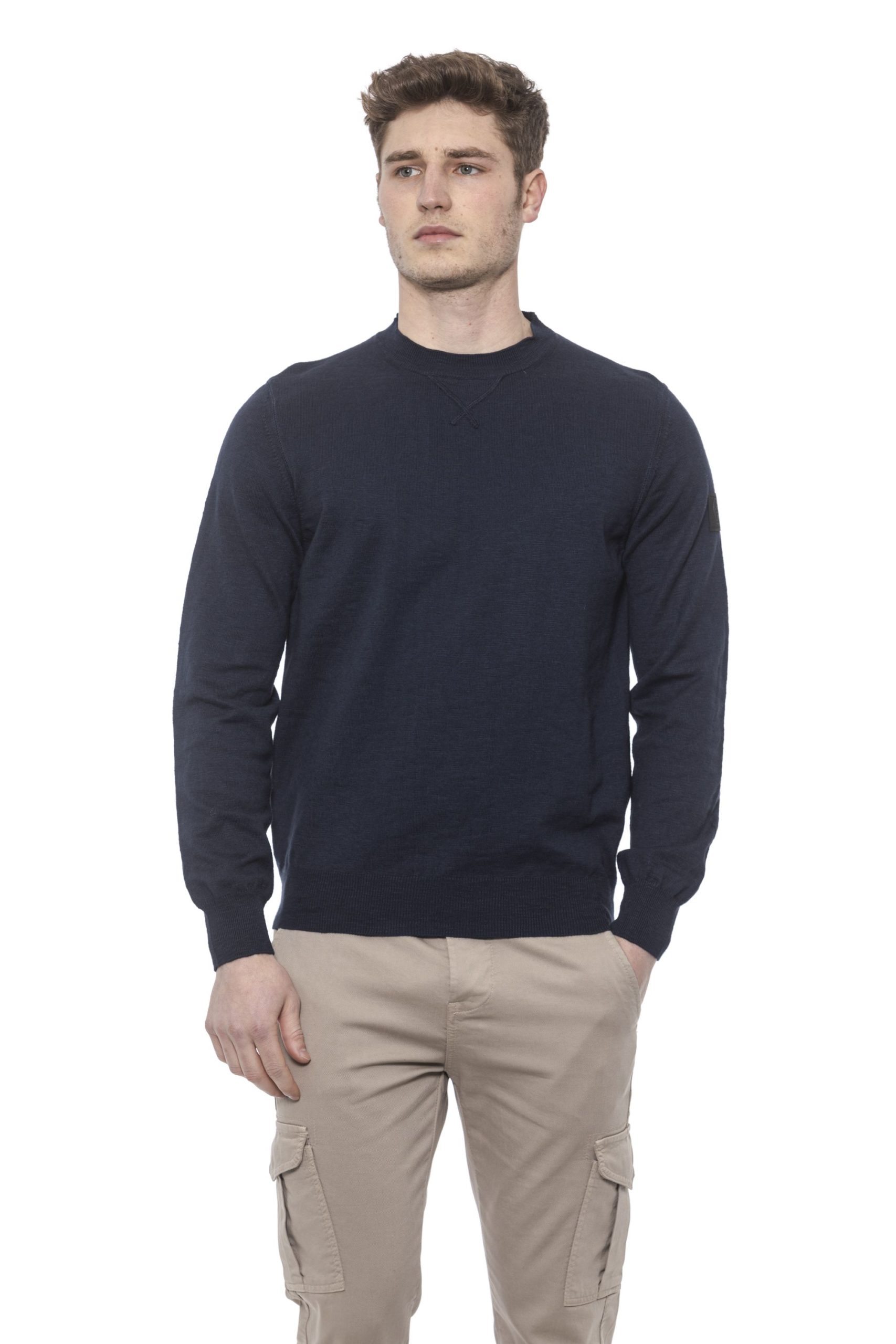 Conte of Florence Men's Sweater Blue CO1376492 - S