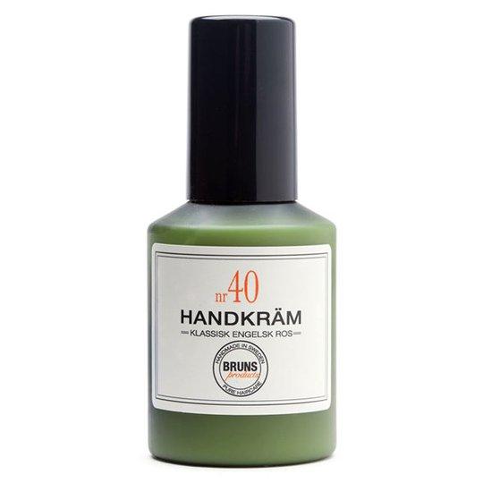 BRUNS Products Handkräm nr 40 - Klassisk Engelsk Ros, 50 ml