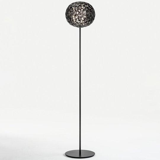 Kartell Planet -LED-lattiavalo, savunharmaa