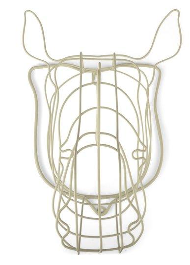 FORm Living Veggdekorasjon Neshorn