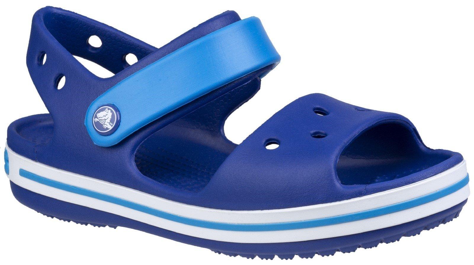 Crocs Kid's Sandal Various Colours 21077 - Dark Blue/Light Blue/White 10