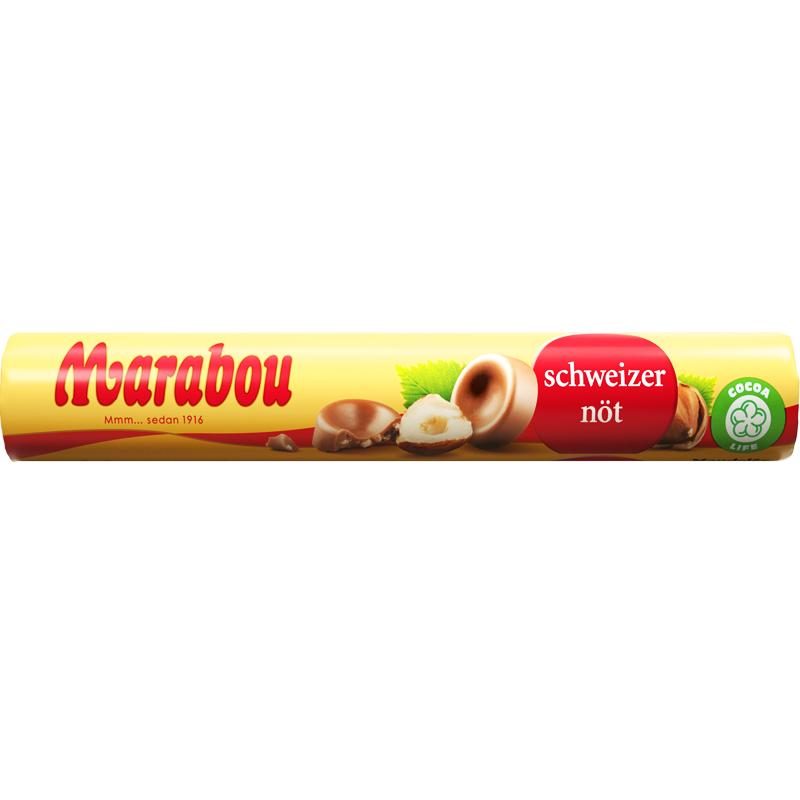 Schweizernöt på rulle - 38% rabatt