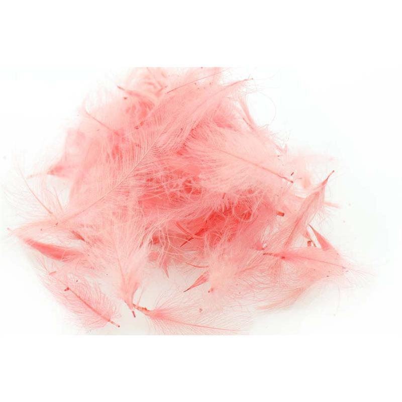 Swiss CDC Super Select Light Pink Store fjær