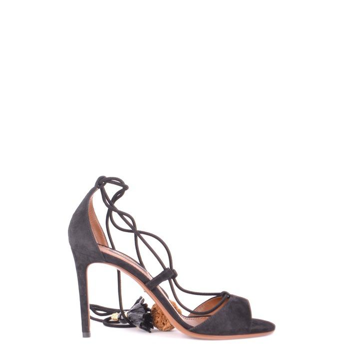 Dolce & Gabbana Women's Sandals Black 164343 - black 37.5