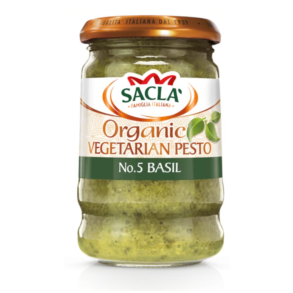 Sacla' Organic Basil Pesto 190g