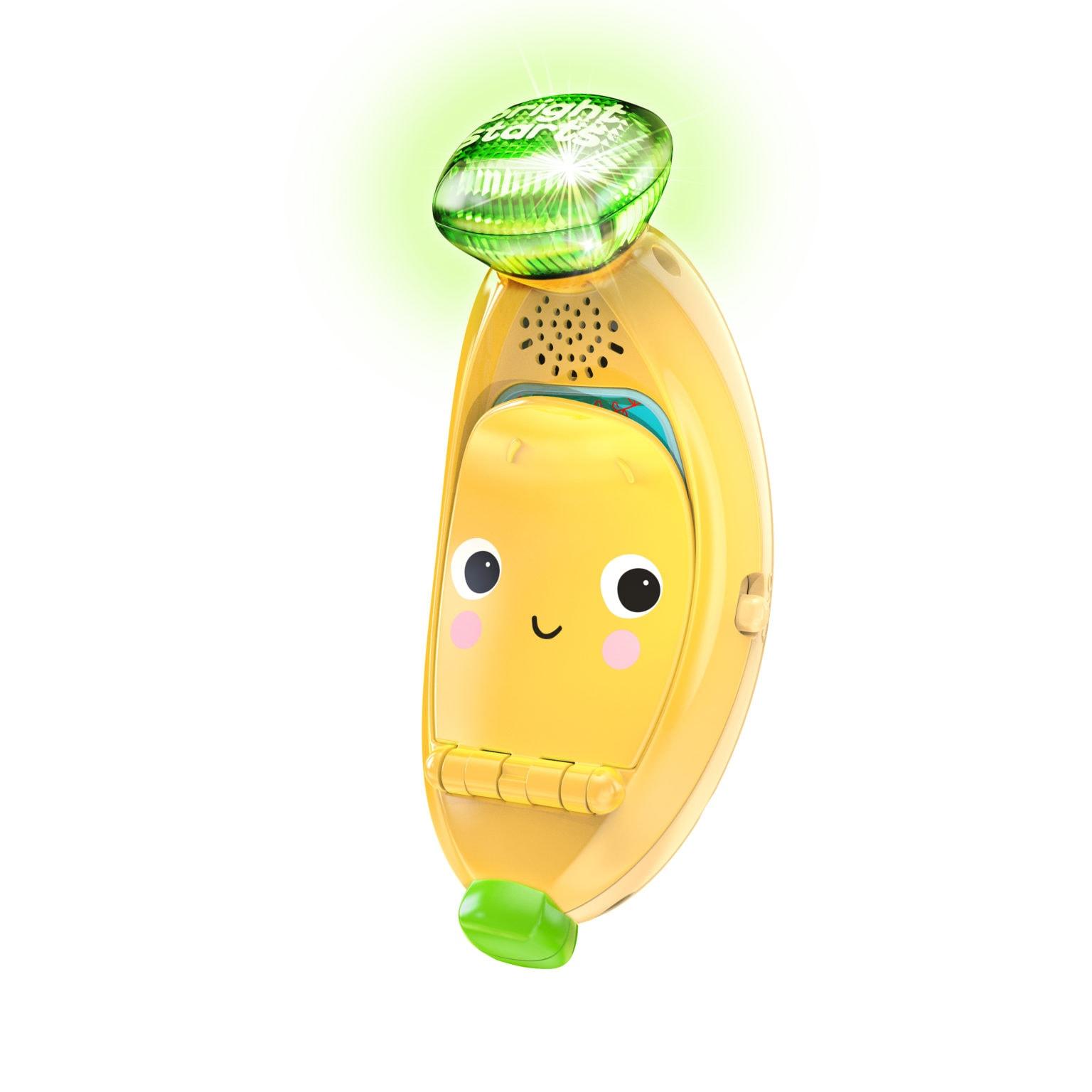 Bright Starts - Bablin' Banana™ Ring and Sing Activity Toy (12497)