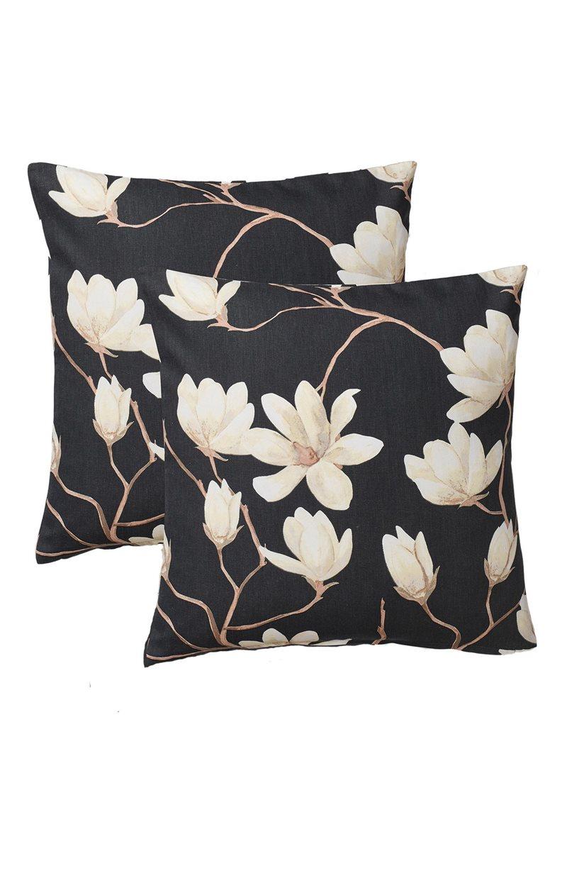 Magnolia kukkakuvioinen tyynynpäällinen 2 kpl/pakkaus