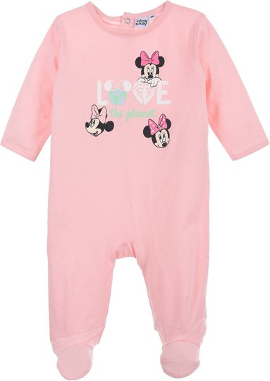 Disney Minni Mus Pysjamas, Light Pink, 18 Månader