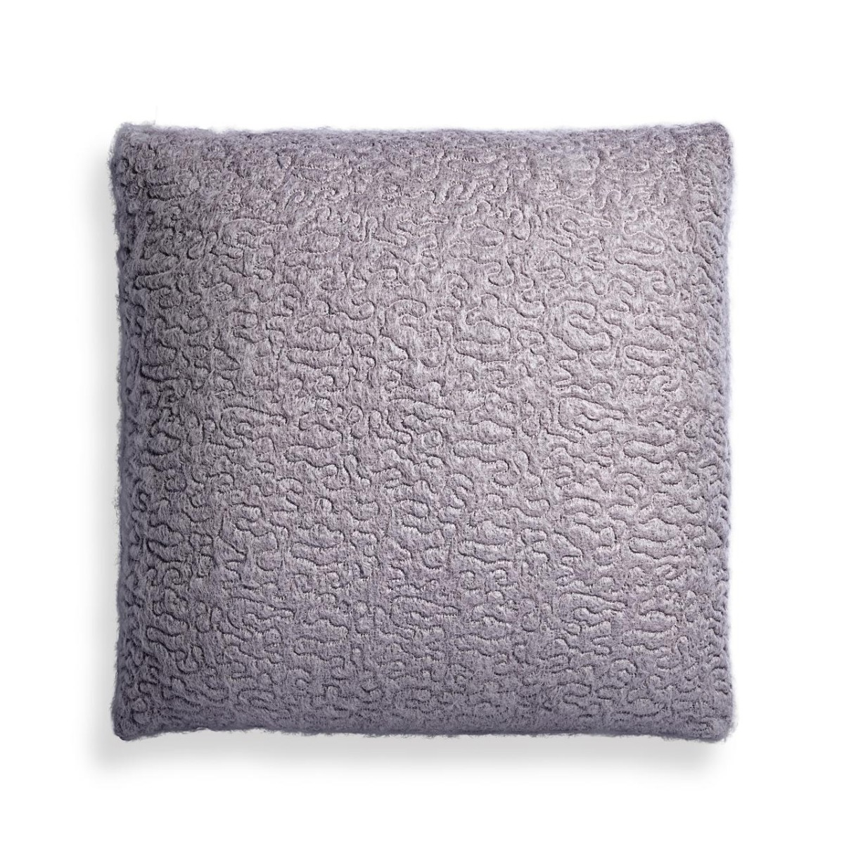 L'Objet I Haas Vermiculation Pillow I Silver