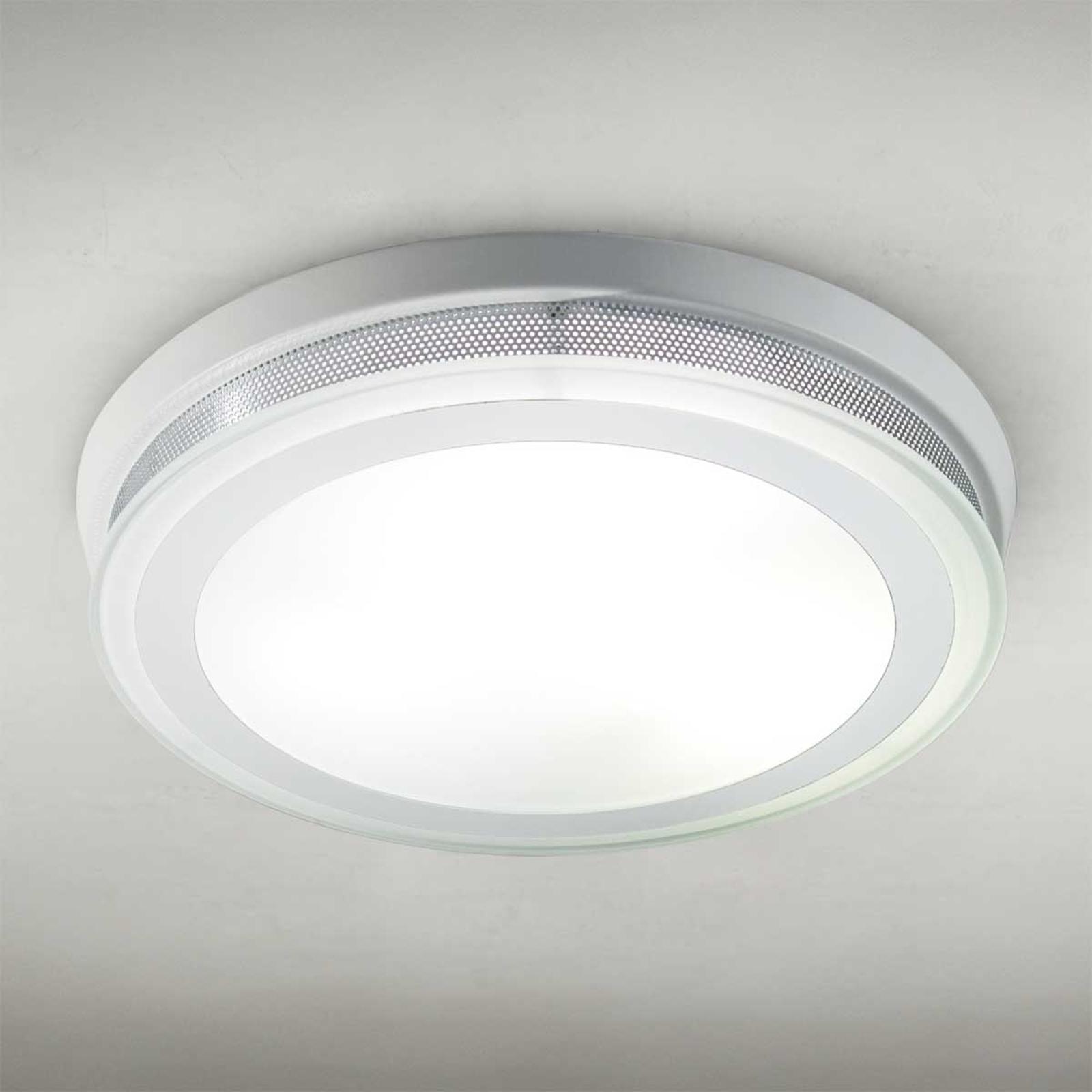 Pyöreä kattovalaisin Ring 9115 37 cm valkoinen