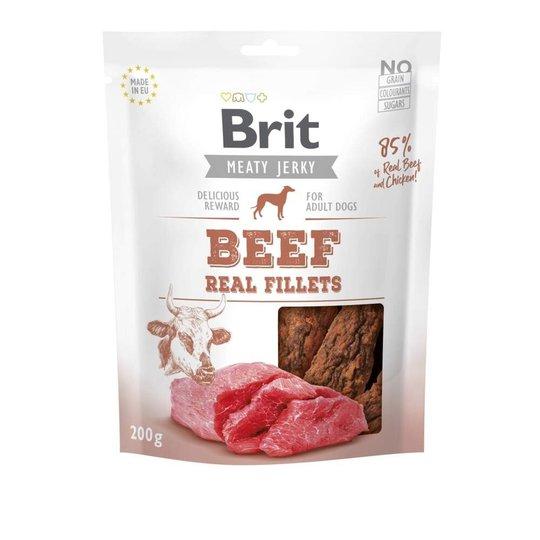 Brit Care Meaty Jerky Beef Fillets (200 g)