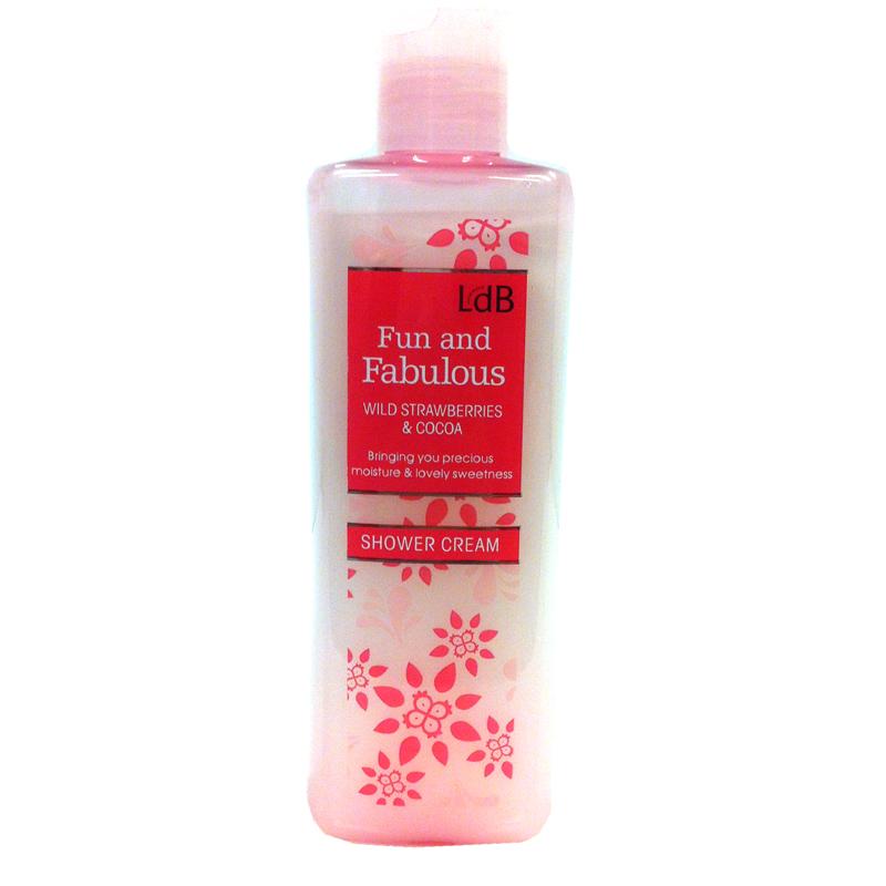 LDB Fun and Fabulous shower cream - 40% rabatt